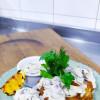 Морской окунь в корочке с грибным соусом Dan San