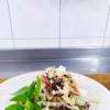 Салат с языком и сыром фета Dan San