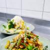 Жареный салат с курицей Dan San