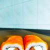 Ролл лосось сыр Dan San